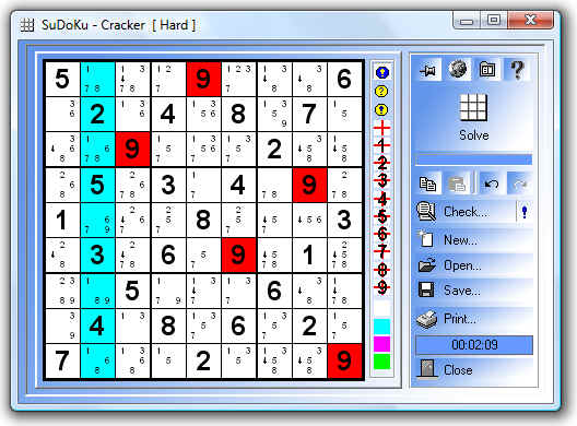 Playing generating printing exporting and solving Sudoku- & Wordoku-puzzl affordable Screen Shot